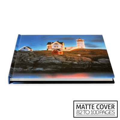 11x8½ Classic Image Wrap Hard Cover / Matte Cover (82-100 pages)