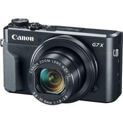Canon-PowerShot G7 X Mark II Digital Camera - Black-Digital Cameras