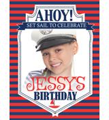 Ahoy! B-Day Yard Flag