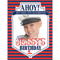 Ahoy! B-Day Poster 450x600mm