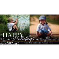 Happy Holidays Stars - B