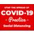 8.5 x 11 Covid-19 Poster A4