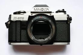 minolta x 370 body used used minolta 35mm slr cameras lenses rh thephotocenter com Minolta X 300 Manual Minolta Cameras