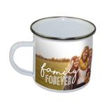 """10 oz Stainless Steel """"Family Forever"""" Camper Mug PG-18-207"""