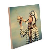 10x8 (25cmx20cm) Wood block print