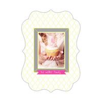 Pink Cupcake<br>11x16<br>Ornate Metal