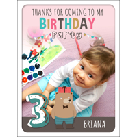 B-Day Friends 3 Poster 450x600mm
