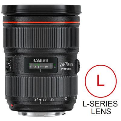 Canon-EF 24-70mm F/2.8L II USM-Lenses - SLR & Compact System