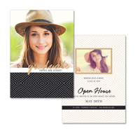 5x7  2 Sided Graduation Card (17-040)