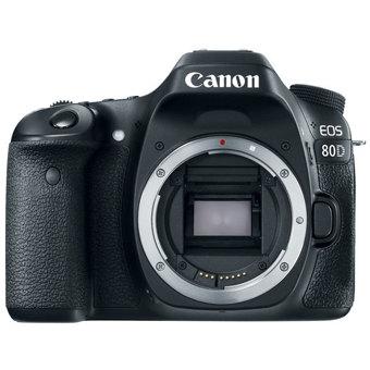 Canon EOS 80D Digital SLR Camera - Body Only - Black - Digital ...