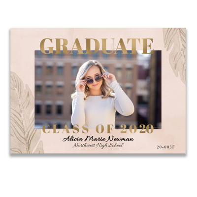 Graduation Announcement (20-003F)