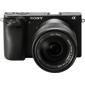 Sony-A6300 Mirrorless Interchangeable-Lens Camera with Vario-Tessar T E 16-70mm ZA OSS Lens - Black-Digital Cameras