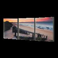 """3-8x10 Premium 3/4"""" Split Image Blocks"""