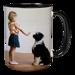 11oz Black Handle & Inner Photo Mug