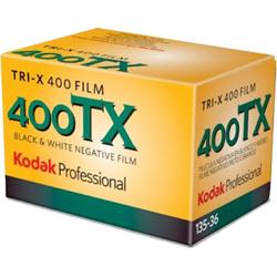 Kodak-Professional Tri-X 400 Film  400TX 135-36-Film