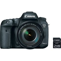 Canon-EOS 7D Mark II EF-S 18-135mm IS USM Wi-Fi Adapter Kit-Digital Cameras