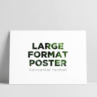 18x24 Large Format Poster
