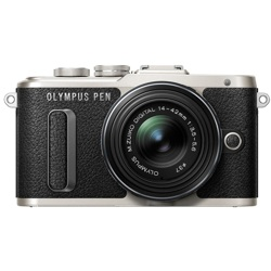 Olympus-PEN E-PL8 Interchangeable Lens Digital Camera with 14-42 mm Lens-Digital Cameras