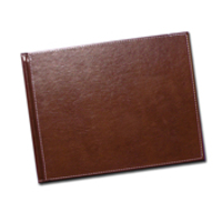 12 x 12 Brown Leather Photo Book