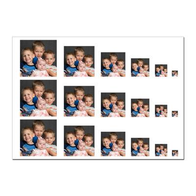 5X7 Locket Sheet