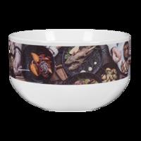 22 oz. White Ceramic Bowl