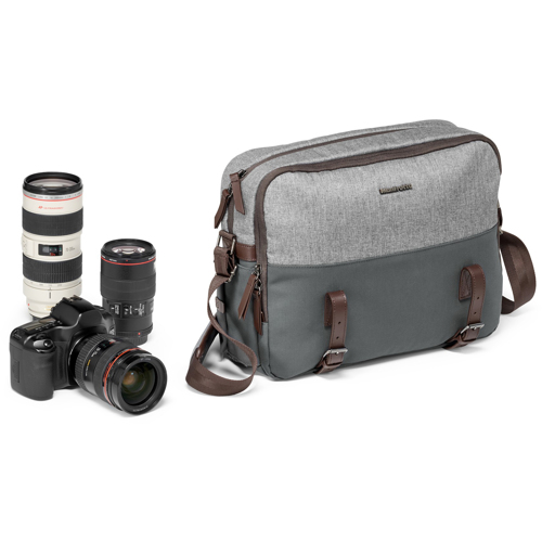 Manfrotto-Windsor Camera Reporter Bag for DSLR-Bags and Cases