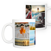 15 oz. Ceramic Mug Collage - 8 images