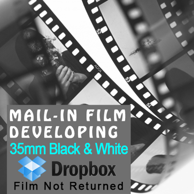 Film Developing - 35mm Black & White - Dropbox