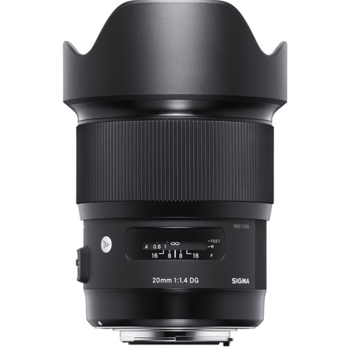 Sigma-20mm F1.4 DG HSM Art for Nikon-Lenses - SLR & Compact System