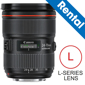 Canon-EF 24-70mm F/2.8L II USM Lens (Rental)-DSLR Camera and Lens Rentals