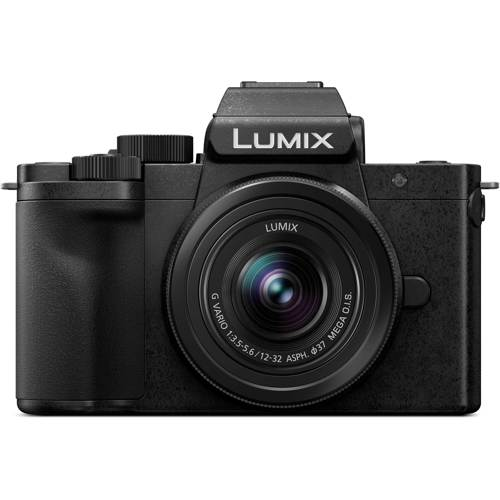 Panasonic-Lumix DC-G100 Mirrorless Digital Camera with 12-32mm F3.5-5.6 Lens-Digital Cameras