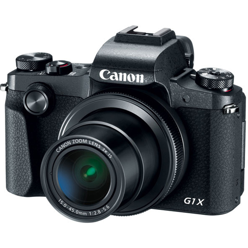 Canon-PowerShot G1 X Mark III Digital Camera - Black-Digital Cameras