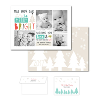 Be Merry<br>5x7 Double Sided<br>Envelope
