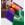 """Calendrier 2020 aux couleurs personnalisées (8,5""""x11"""") - Plier et broché"""