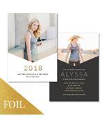 Grad Card (17-050-5x7) Foil
