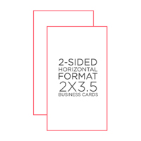 """250 pack  2""""x3.5"""" Business Cards"""