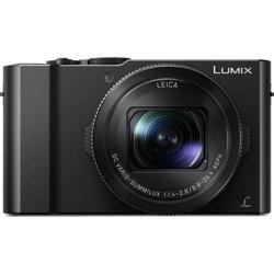 Panasonic-Lumix DMC-LX10 Digital Camera - Black-Digital Cameras