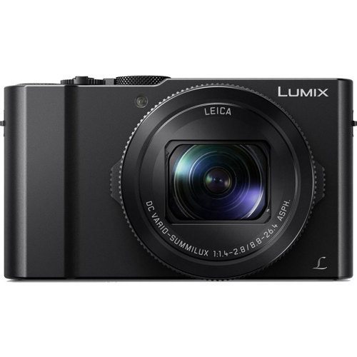Panasonic-Lumix DMC-LX10 Digital Camera - Black-Digital Cameras