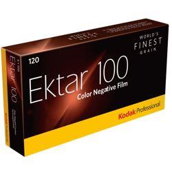Kodak-Professional Ektar 100 Film 120 - 5 Packs-Film