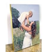 5x7 Brushed Gold Mounted Board