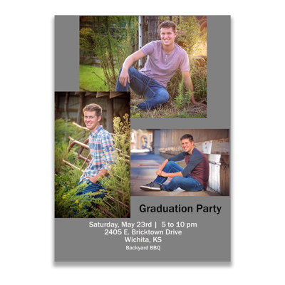 Graduation Announcement (20-007B)