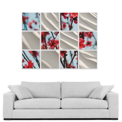 """12 piece 300x300mm (12x12"""") Collection with 12mm Image Wrap"""