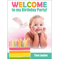 Candles B-Day Poster 450x600mm