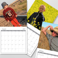 12 x 12 - 2021 Wall Calendar - 1 picture per page