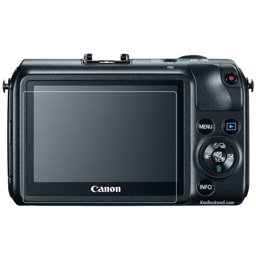 Phantom Glass-Canon EOS-M Screen Protector-Miscellaneous Camera Accessories