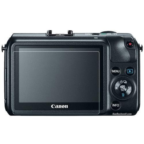 Phantom Glass-Protecteur D'Écran pour Canon EOS-M-Accessoires pour Caméra Divers