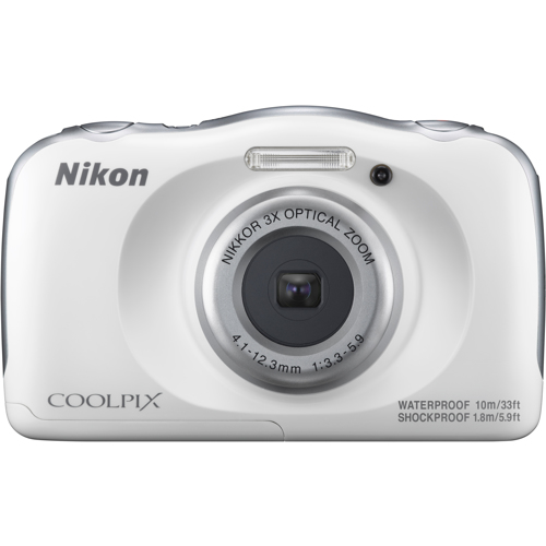 Nikon-CoolPix W100 Digital Camera-Digital Cameras