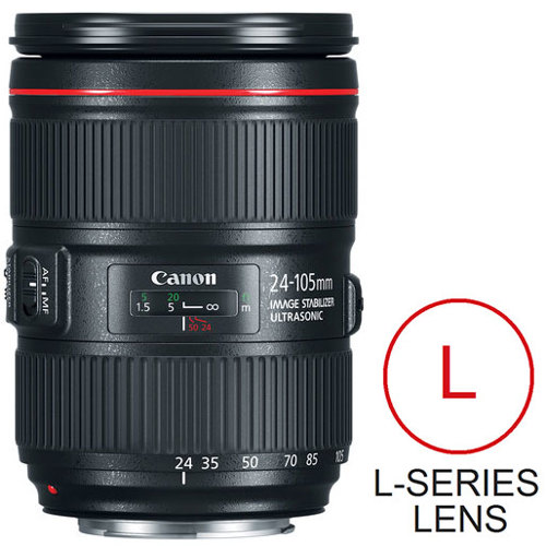 Canon-EF 24-105mm F4L IS II USM-Lenses - SLR & Compact System