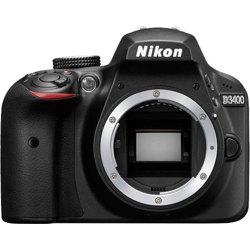 Nikon-Appareil Photo Reflex Numérique DSLR D3400 - Boîtier Seulement-Appareil Photo Numérique