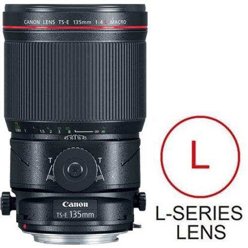 Canon-TS-E 135mm F4L Macro Tilt-Shift-Lenses - SLR & Compact System